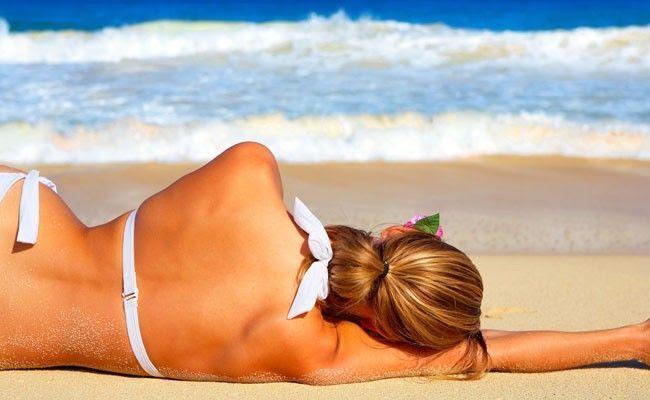 5 maneiras de aliviar as queimaduras de sol 5 maneiras de aliviar as queimaduras de sol