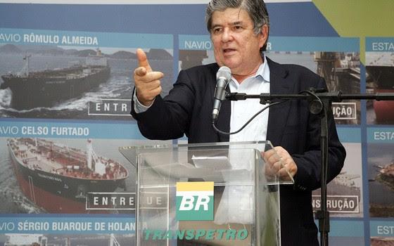 Sérgio Machado, presidente da Transpetro (Foto: Renata Mello/ Transpetro)