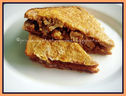 Gobi bread toast
