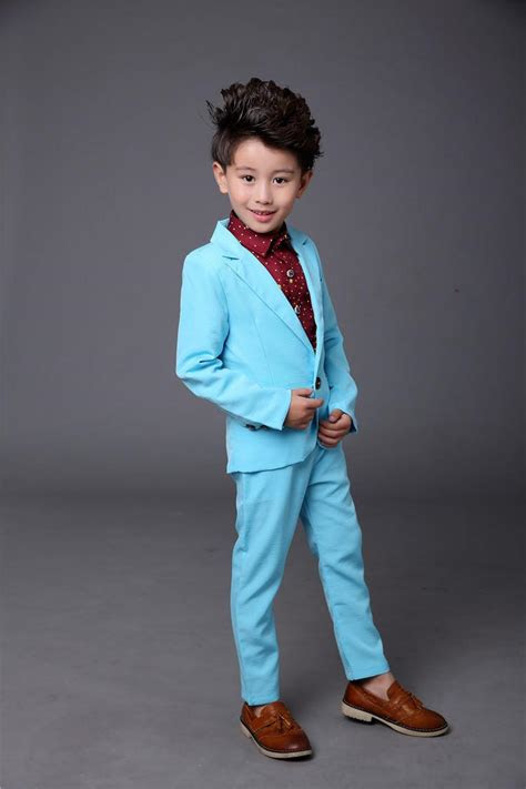 candy color baby suits  party solid pinkblue child