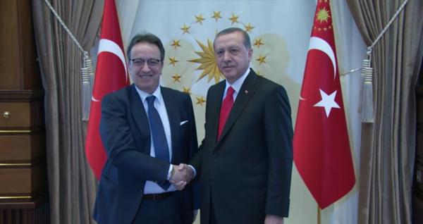 Hafedh Caïd Essebsi et Erdogan