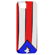 Puerto Rican Flag iPhone 5 Cases