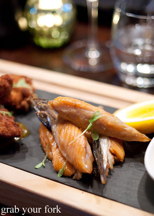 akaroa salmon wings at fiddlesticks christchurch