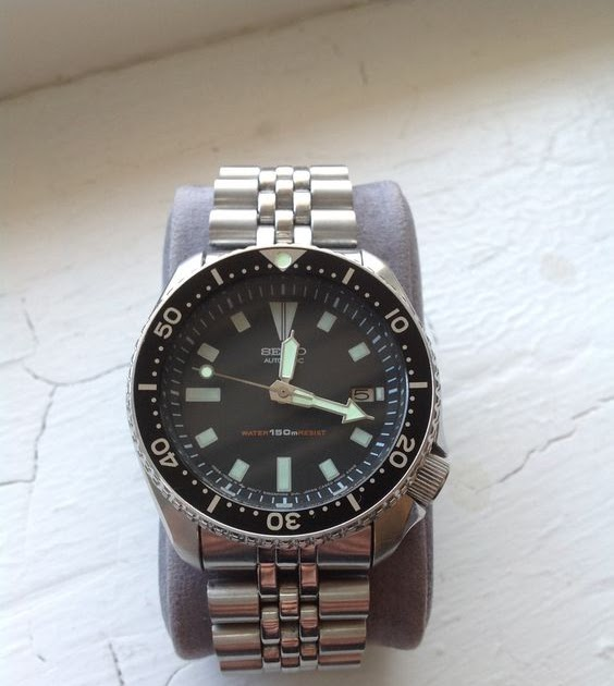 Ramblings of a petrolhead: Seiko 7002 NH35