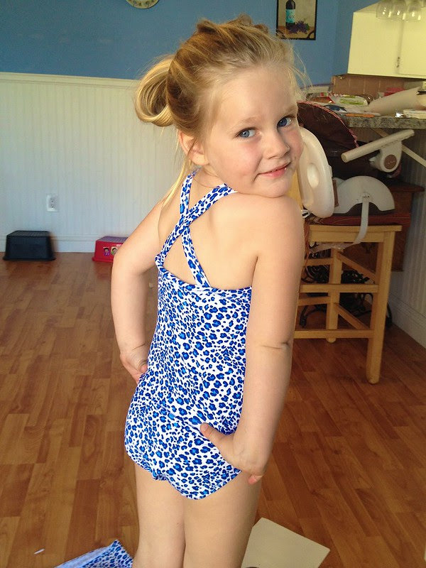 Presley in her Bathing Suit 2