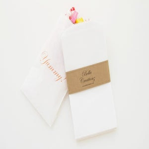 Image of Small White Kraft Bags