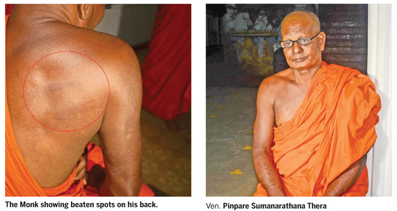 Monk abducted, beaten, robbed...