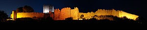 English: The Castle of Platamon, Greece. Polsk...