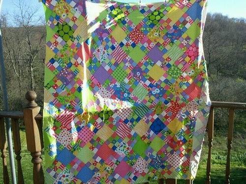 Aunt lindas quilt top