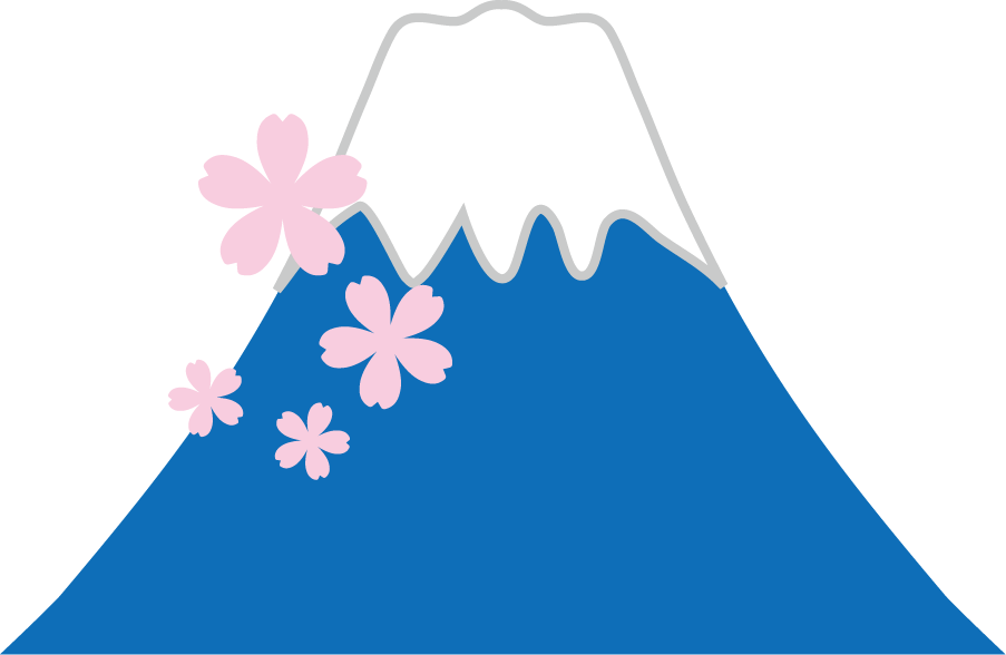 富士山のイラスト 無料イラストフリー素材