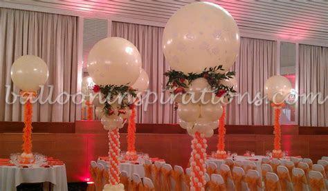Jewish wedding balloon decorations