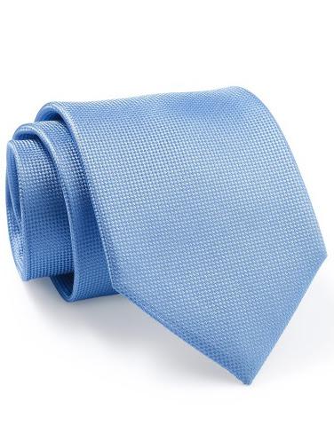 Mẫu Cravat Đẹp 18 - Đồng Phục Màu Xanh Trơn