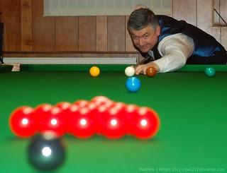 DSC_0467 John Parrott Snooker Player Q&A at Aughton Institute 130112