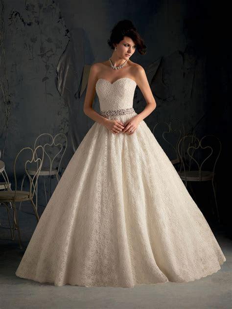 Luxury Open Back Lace Wedding Gown Dresses 2015 Sweetheart