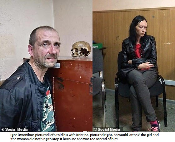 CCTV shows last moment of an 8-year-old girl who was raped and killed by a married couple after she ran away from home following an argument with her parents