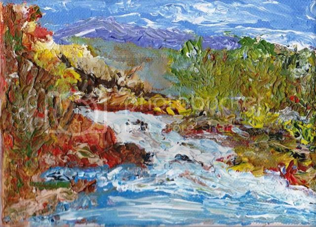 Wild Coast Acrylic on Canvas by Amitabh Mitra photo Miniature 2.1_zpssp6gavo7.jpg