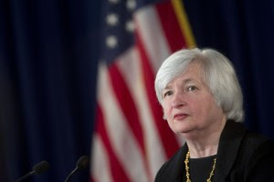 Janet Yellen, Chair of the Board of Governors Federal Reserve System Andrew Harrer/Bloomberg via Getty Images
