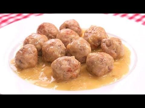 Alb ndigas en salsa muy f ciles y jugosas cocina con - Cocina con carmen ...