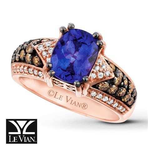Le Vian Chocolatier® Blueberry Tanzanite® ring with