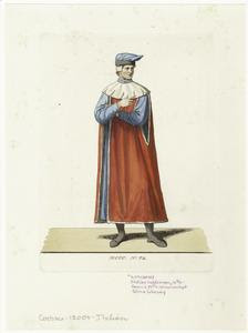 Italian nobleman, 14th c. Digital ID: 810688. New York Public Library