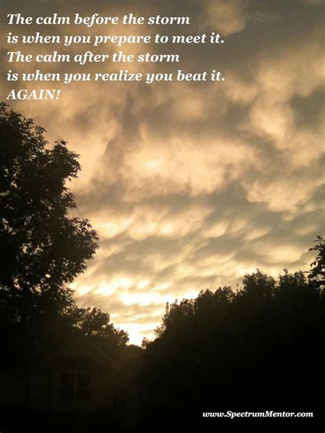 Calmness Before Storm Quotes