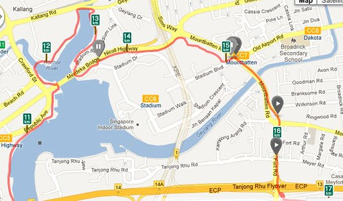 Using Fort Road to get to ECP