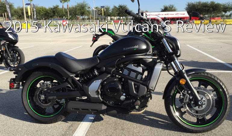 See What You Think Of The Sporty 2015 Kawasaki Vulcan S