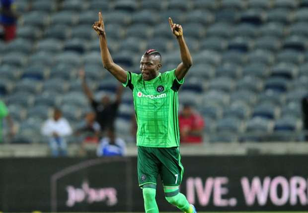 Orlando Pirates striker Ndoro hopeful of winning PSL Golden Boot
