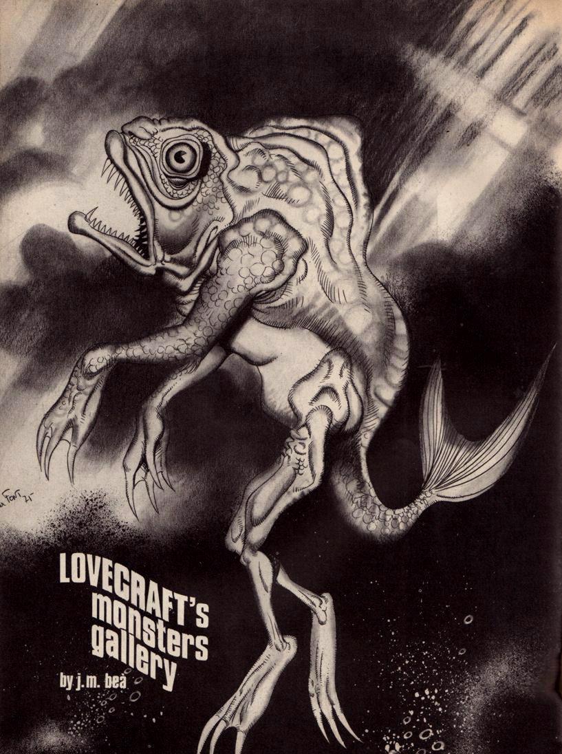 Josep M. Beá - Lovecraft Monster Gallery - 3