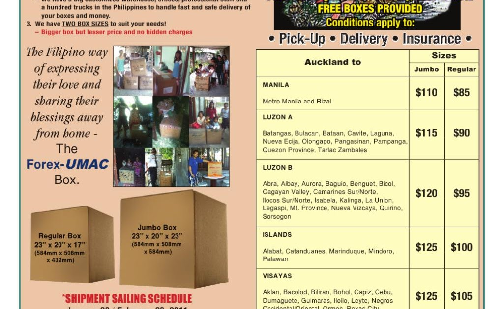 FOREX UMAC EXPRESS CARGO NZ LIMITED NZBN - New Zealand Business Directory