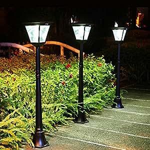 Amazon.com : CISTWIN High Power Solar Lamp Post Light With ...