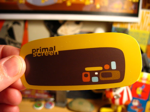 Primal Screen business card