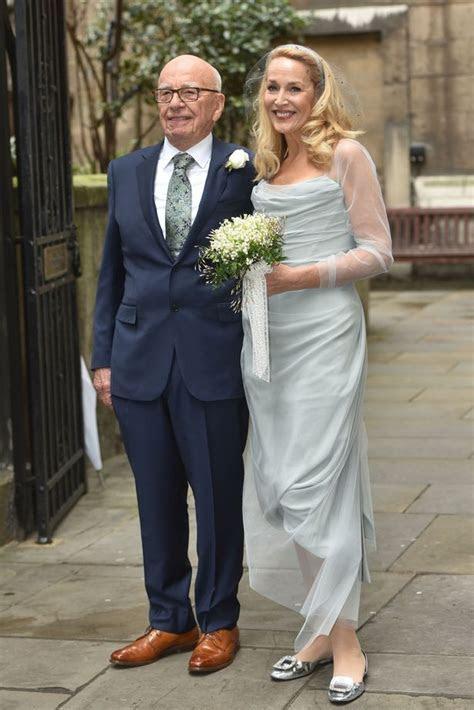 Jerry Hall describes star studded wedding to Rupert