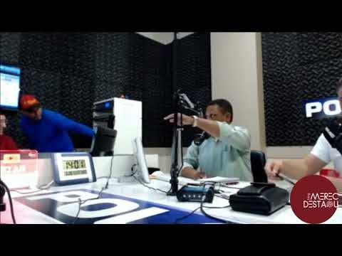José Augusto Maia e Deomedes Brito batem boca durante programa de rádio