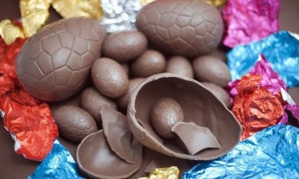 Πασχαλινά αυγά σοκολατένια: Οδηγίες για ασφαλή κατανάλωση