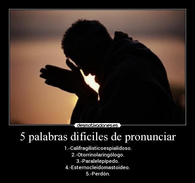 5 Palabras Dificiles De Pronunciar Desmotivaciones