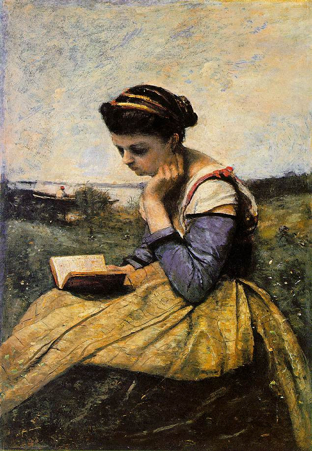 Woman Reading - books-to-read photo