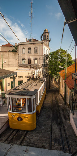 Ascensor en Lisboa