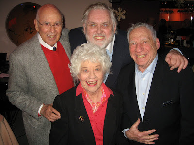 Carl Reiner, Charlotte Rae, Jim Brochu, Mel Brooks