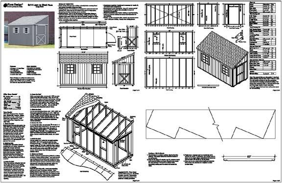 Generic Shed Plans Flat Roof Shed Plans Pdf