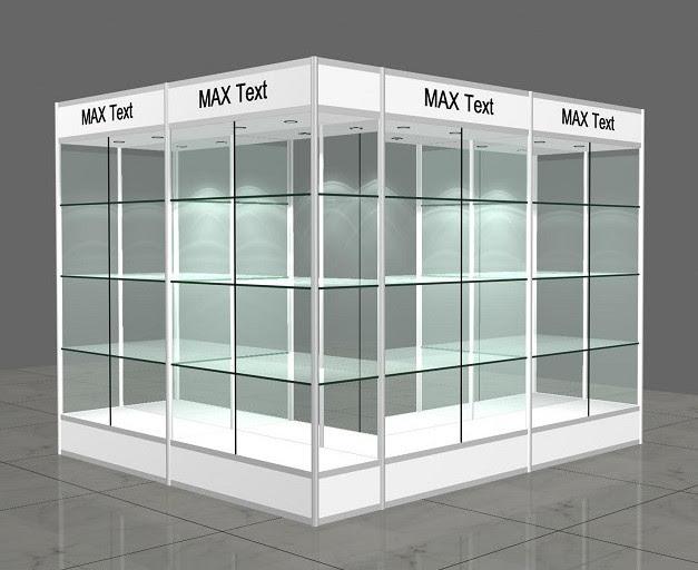 aluminium glass display showcase design - Top-notch Metal&Plastic ...