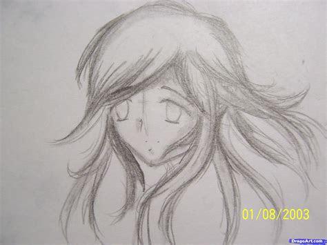 draw dynamic hair step  step anime hair anime