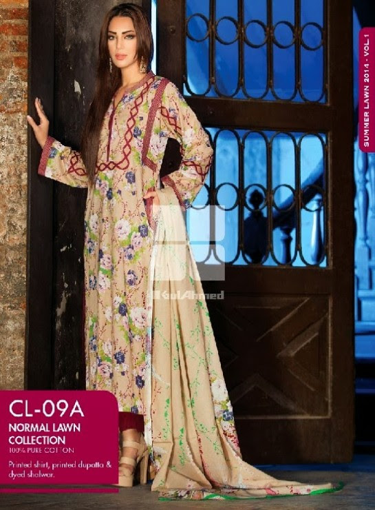 Girls-Wear-Summer-Dress-Chunri-Prints-Block-Prints-Embroidered-Single-Lawn-New-Fashion-Suits-by-Gul-Ahmed-15