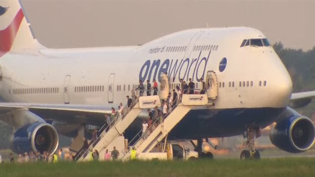 Atterrissage d'urgence d'un avion de British Airways à l'aéroport Montréal-Trudeau