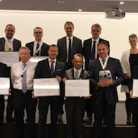 Winners of the Best Polymer Producers Awards for Europe 2016.