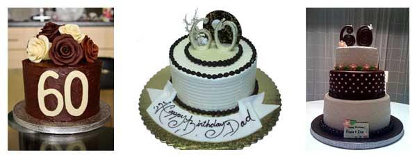 Birthday cakes for Dad 60th birthday