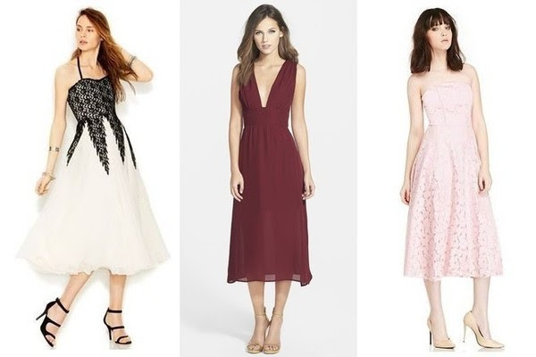 Trend to Try: Tea Length Dresses