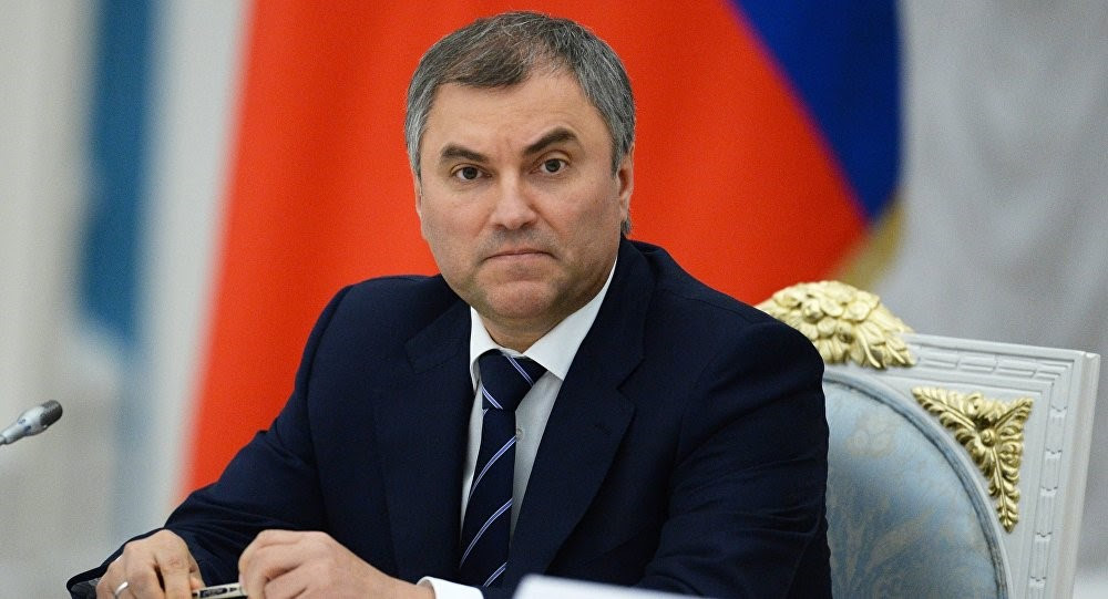 Image result for Vyacheslav Volodin