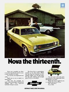 1974 Chevrolet Nova Hatchback Coupe & '62 Chev...