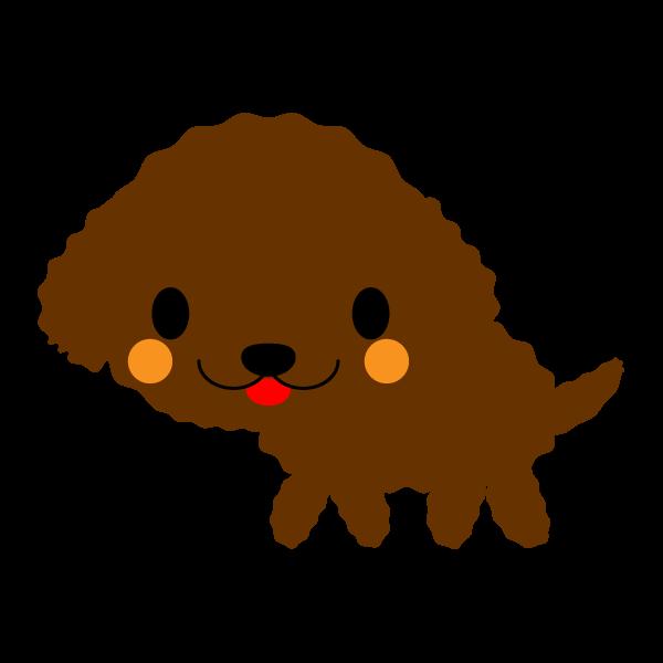 ソフトタッチでかわいい土佐犬の無料イラスト商用フリー オイデ43
